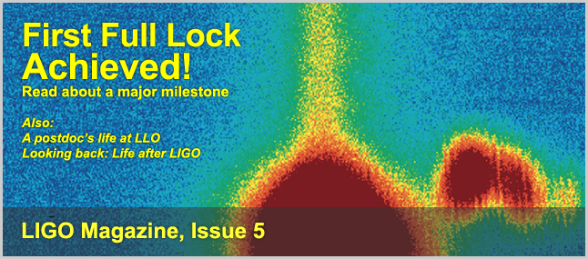 Read Issue 5 of LIGO Magazine