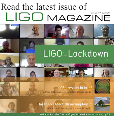 Read the latest issue of LIGO Magazine