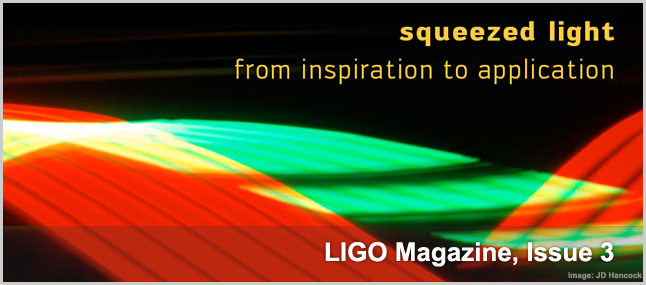 First issue of LIGO Magazine