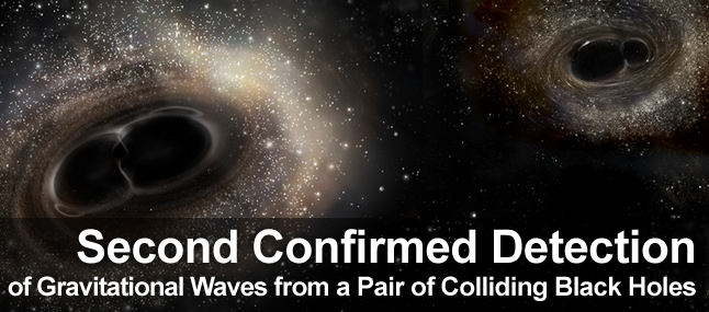 Second confirmed detection of gravitational waves
