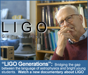 Watch LIGO Generations, a documentary about LIGO