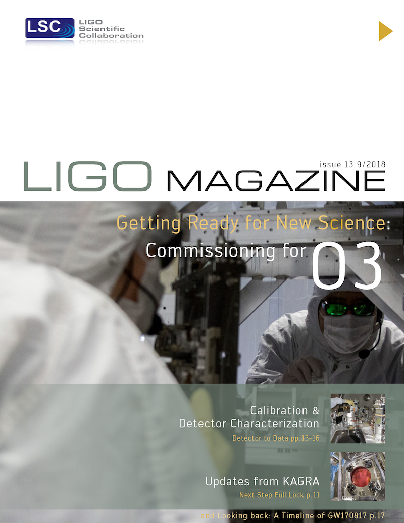 LIGO Magazine, Issue 13
