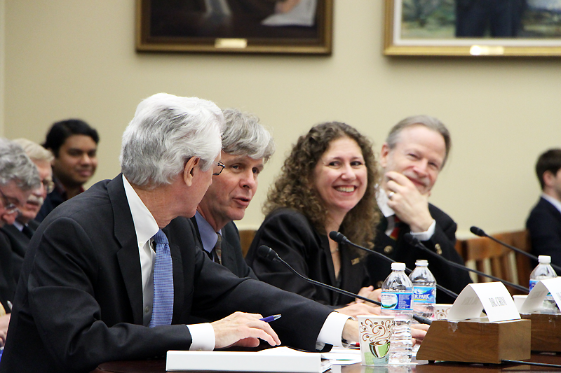 LIGO members testify at Congress on the discovery