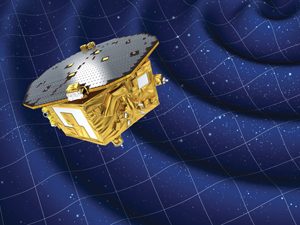 Artist's impression of the LISA Pathfinder