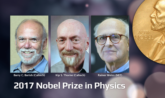 Nobel winner Barish, Thorne, and Weiss
